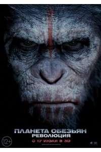 Планета обезьян: Революция | BDRip 1080p | Лицензия