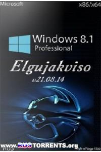 Windows 8.1 Pro (x86/x64) Elgujakviso Edition (v21.08.14)