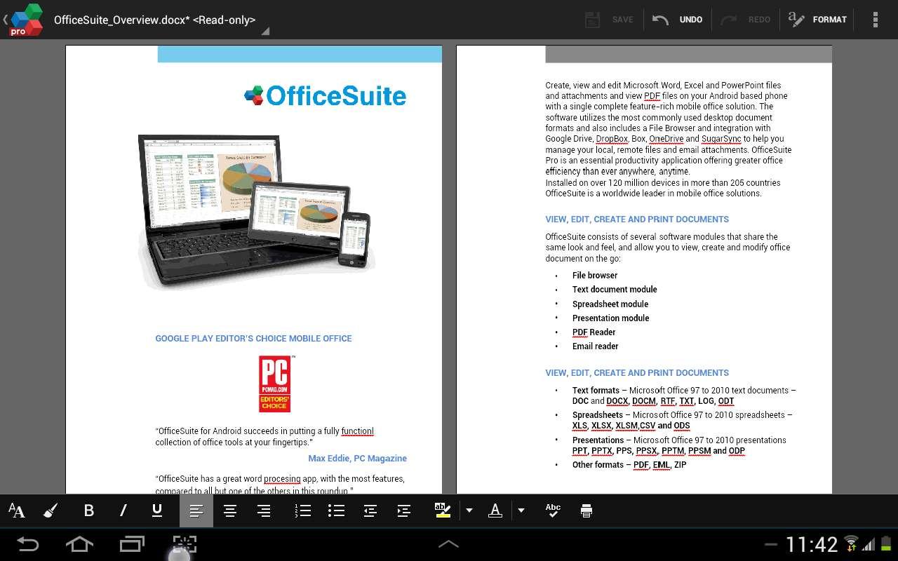 OfficeSuite Premium 8 (PDF & HD) v8.3.3779 | Android