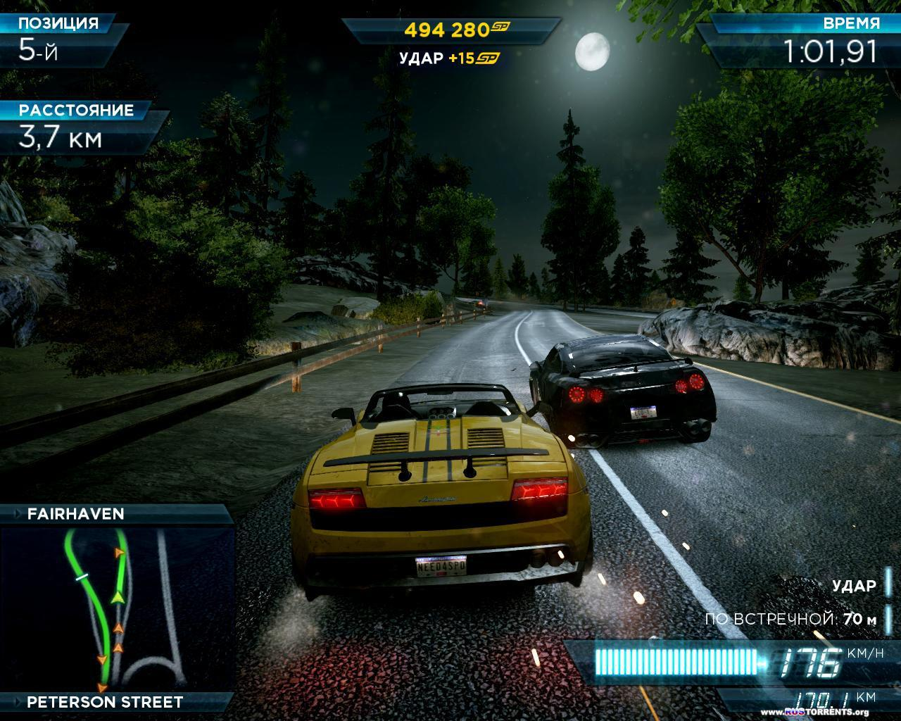 Need for Speed� Most Wanted - Limited Edition v.1.4.0.0 + 4 DLC (Electronic Arts) (RUS) [L]