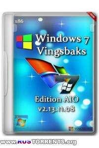 Windows Se7en VINGSBAKS EDITION AIO SP1 x86 DVD v2.13.11.08 RUS