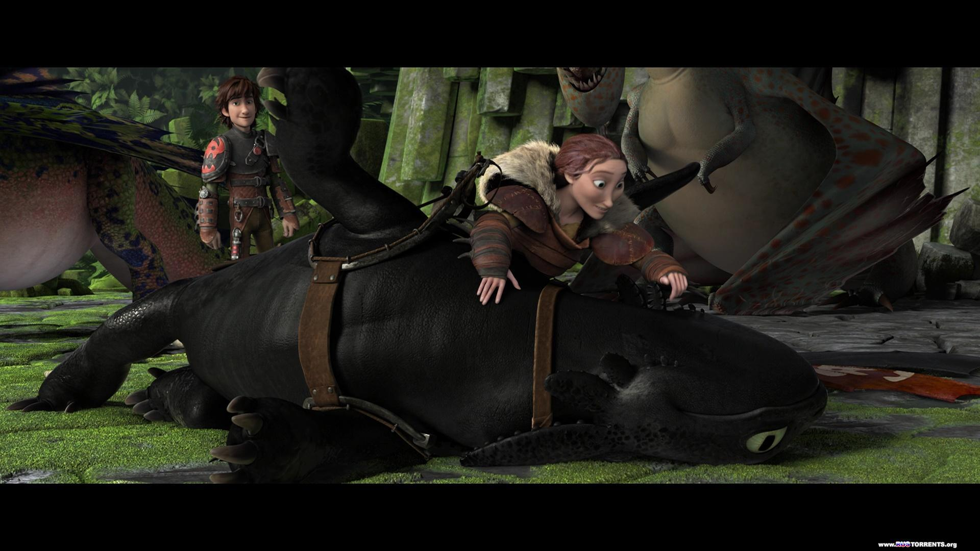 Как приручить дракона 2 | BDRemux 1080p | Лицензия