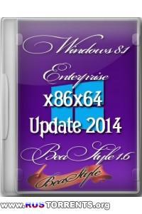 Windows 8.1 x86/x64 Enterprise BeaStyle 1.6 RUS/ENG