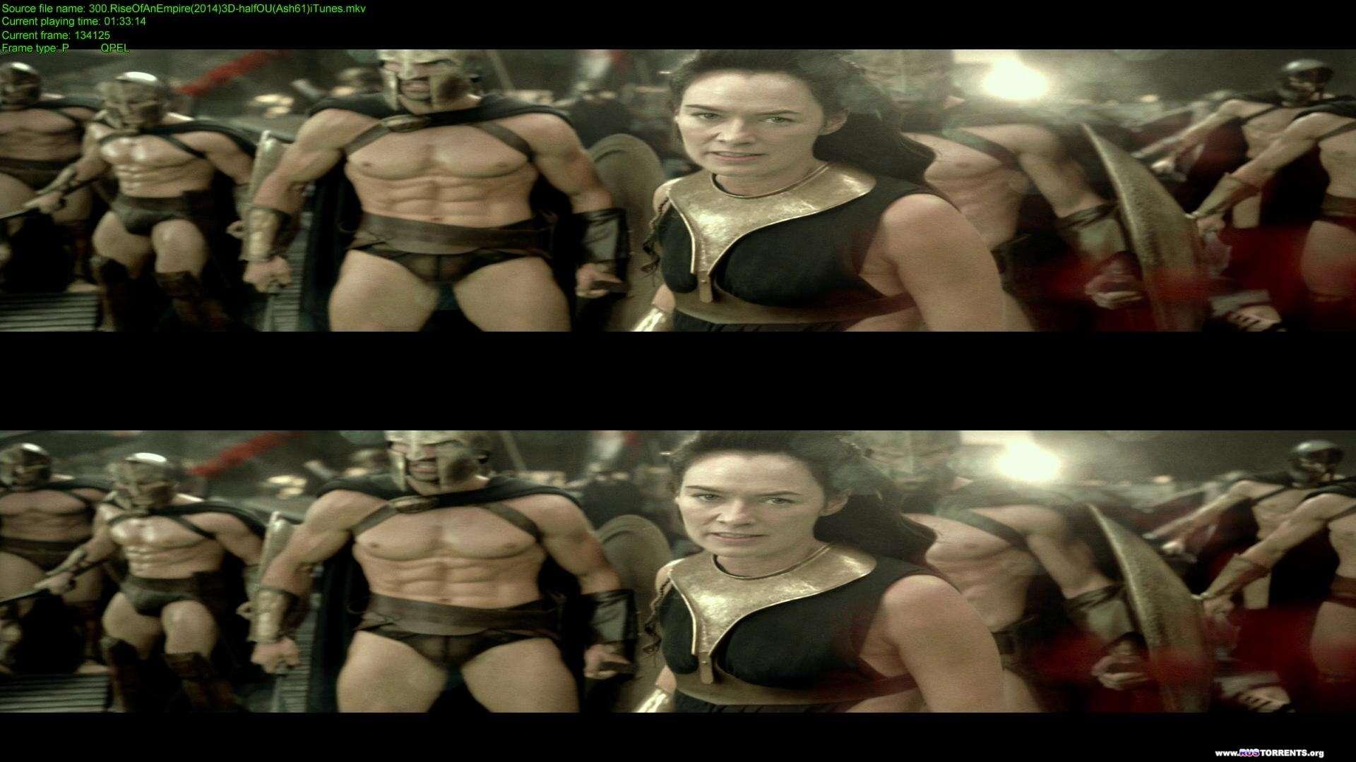300 спартанцев: Расцвет империи | BDRip 1080p | 3D-Video | halfOU | Лицензия