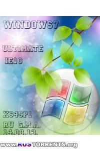 Windows 7 Ultimate SP1 IE10 x64 G.M.A. by geepnozeex RUS