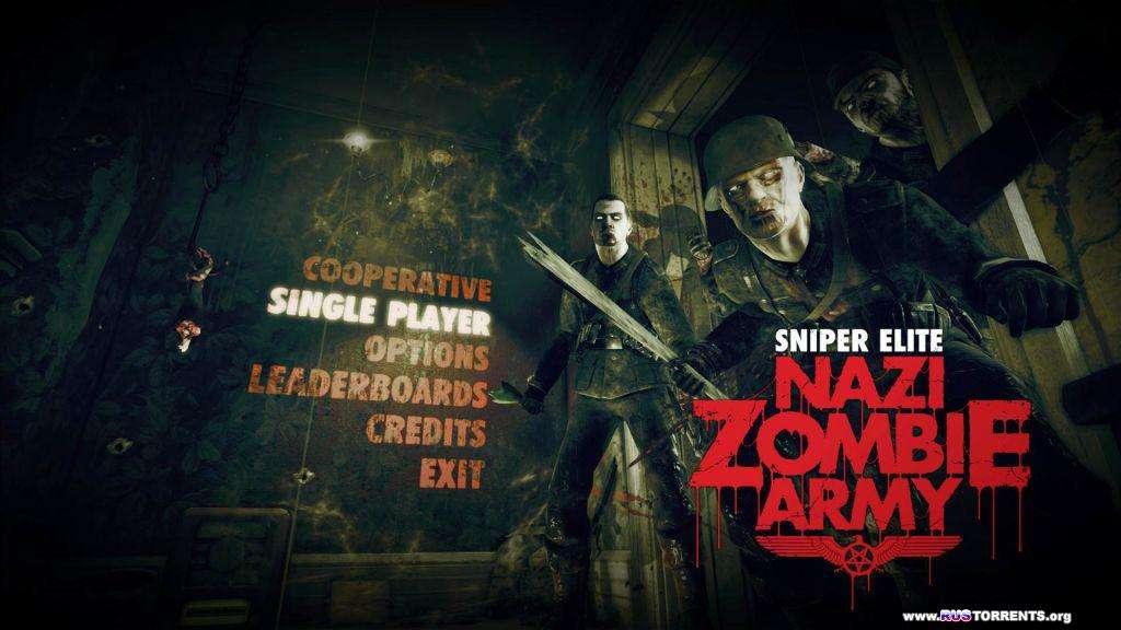 Sniper Elite: Nazi Zombie Army [v 1.05] | PC | RePack от Audioslave