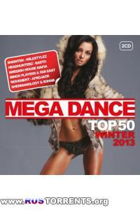 VA - Mega Dance Top 50 Winter - 2CD
