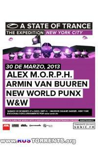 Armin van Buuren - A State Of Trance Episode 600 - Live New York, USA [30.03.2013]