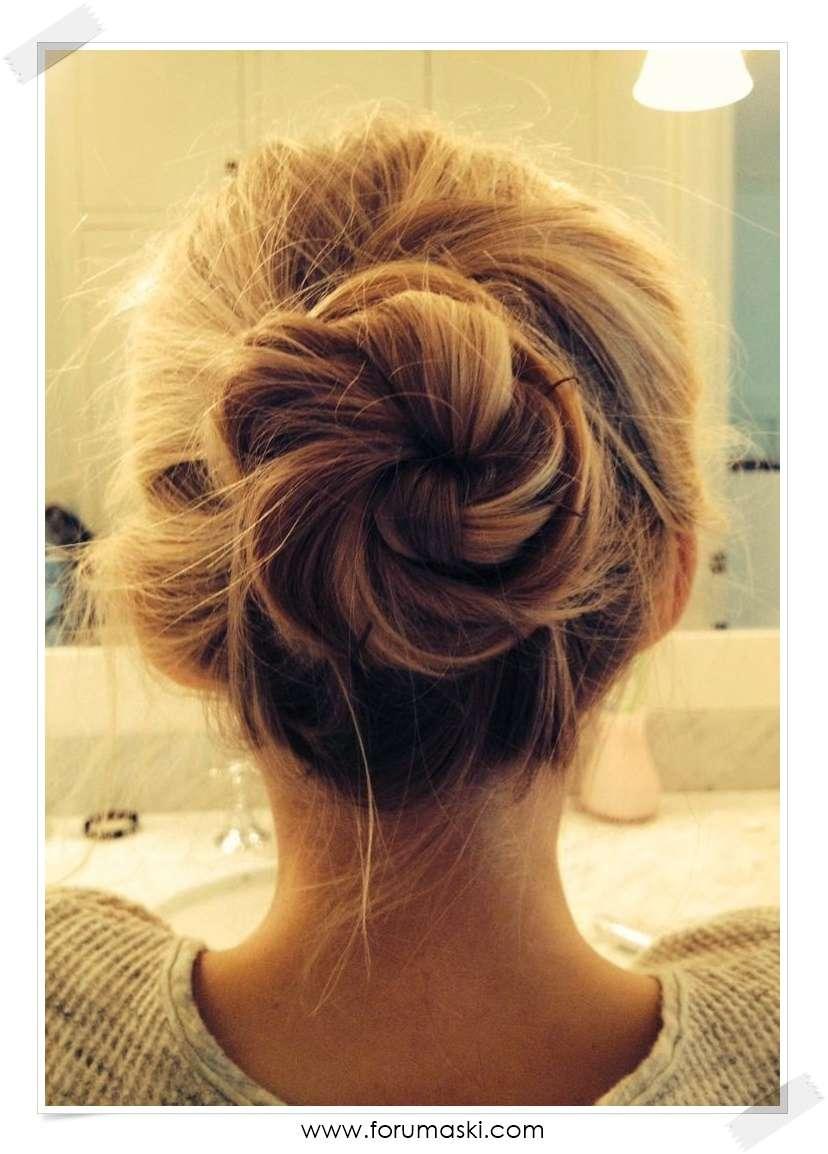 Прически для девушек со средними волосами