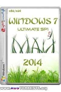 Windows 7 Ultimate SP1 х86/х64 by Loginvovchyk 05.2014 RUS