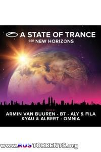 VA - A State Of Trance 650 (New Horizons) Mixed by Armin van Buuren, BT, Aly and Fila, Kyau & Albert, Omnia (5CD)