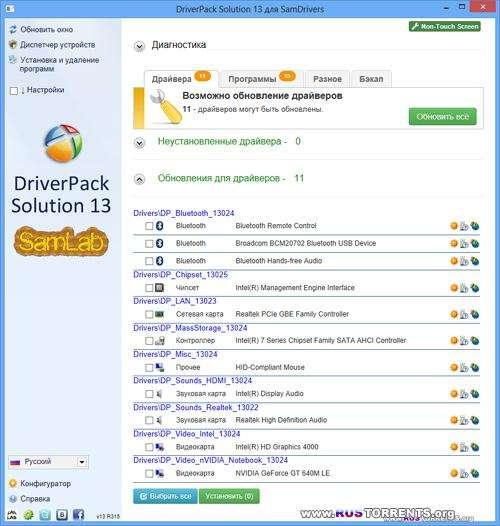 SamDrivers 13.2