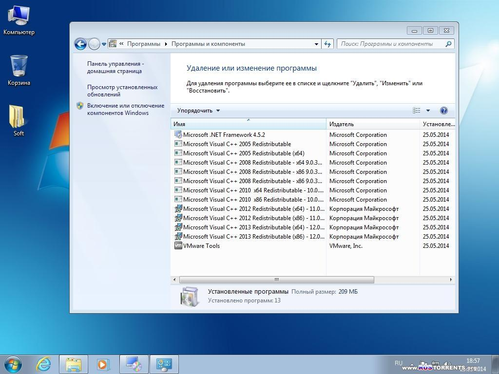 Windows 7 Professional SP1 Elgujakviso Edition v.25.05.14