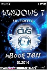 Windows 7 Ultimate х86/х64 nBook IE11 by OVGorskiy 10.2014 2DVD RUS