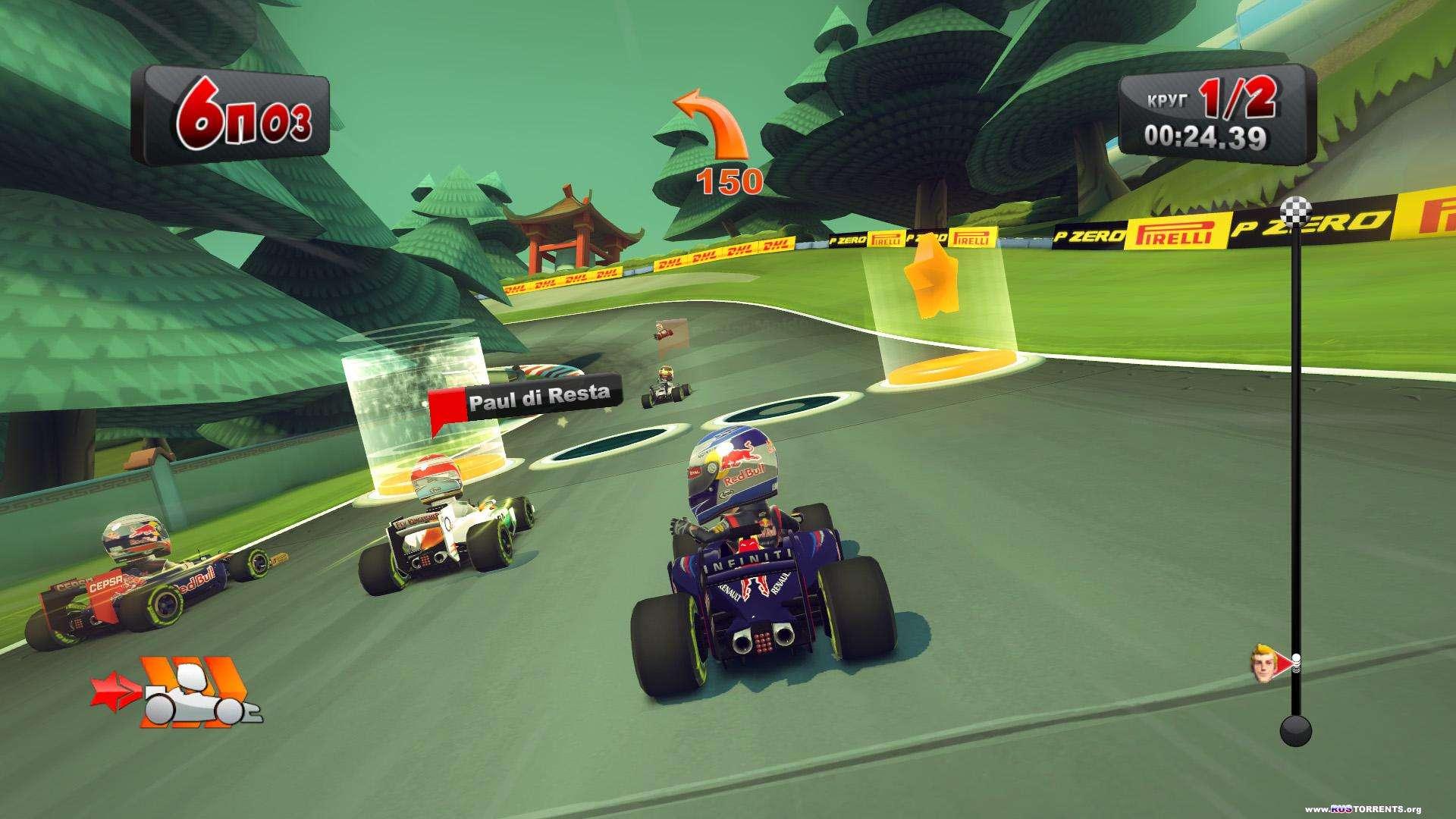 F1 Race Stars | PC | RePack от VANSIK