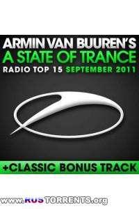 VA - Armin van Buuren - A State Of Trance Radio Top 15: September 2011