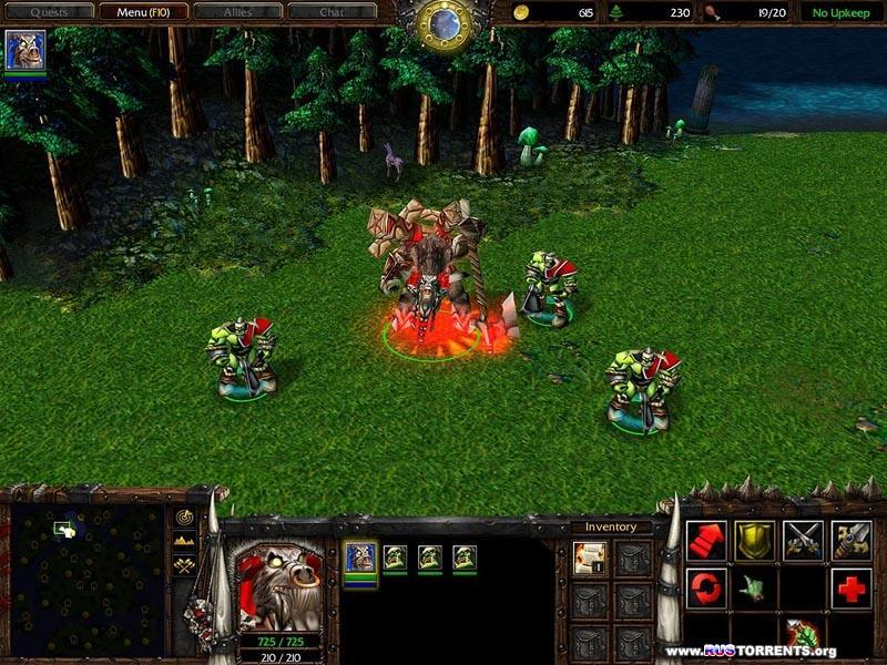 Warcraft 3: The Reign of Chaos | PC | RePack от R.G. Механики