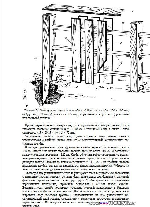 Дорожки, заборы, ограды