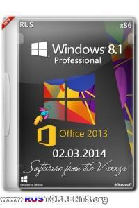 Windows 8.1 Pro Vannza & Microsoft Office 2013 SP1