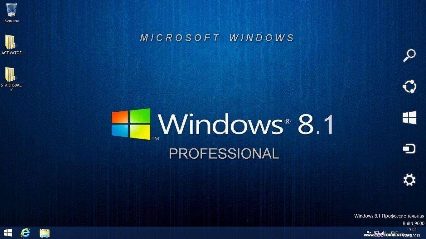Windows 8.1 Pro x64 Elgujakviso Edition v.23.12.13 RUS