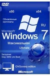 Windows 7 Максимальная Ru x86-x64 Orig w. BootMenu by OVGorskiy 04.2015 (32/64 bit) 1DVD (2015) Rus