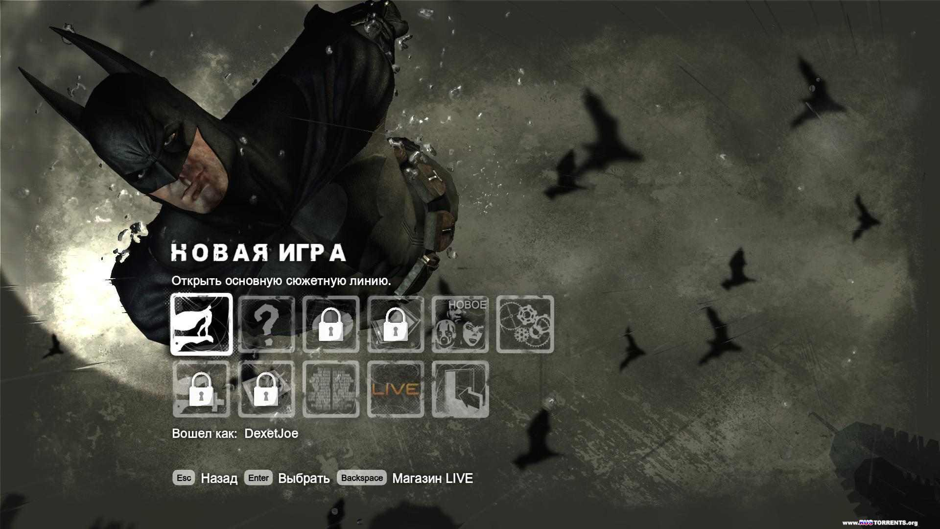 Batman: Arkham City + DLC [Repack, RUS, 2011][R.G. Catalyst]