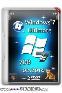 Windows 7 Ultimate х86/x64 SP1 7DB by OVGorskiy