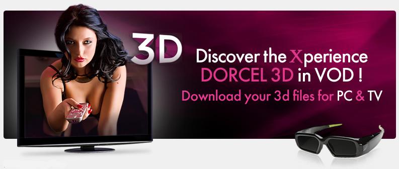 Levrette sur banquette 3D | 3D Dorcel Vision - Levrette sur banquette 3D