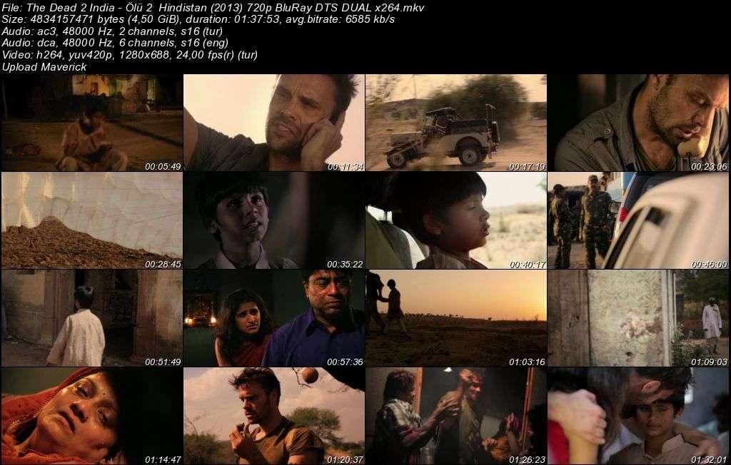 Ölü 2: Hindistan - 2013 BluRay (720p - 1080p) DuaL MKV indir
