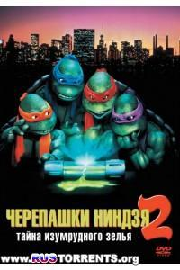 Черепашки-ниндзя 2: Тайна изумрудного зелья | НDRip