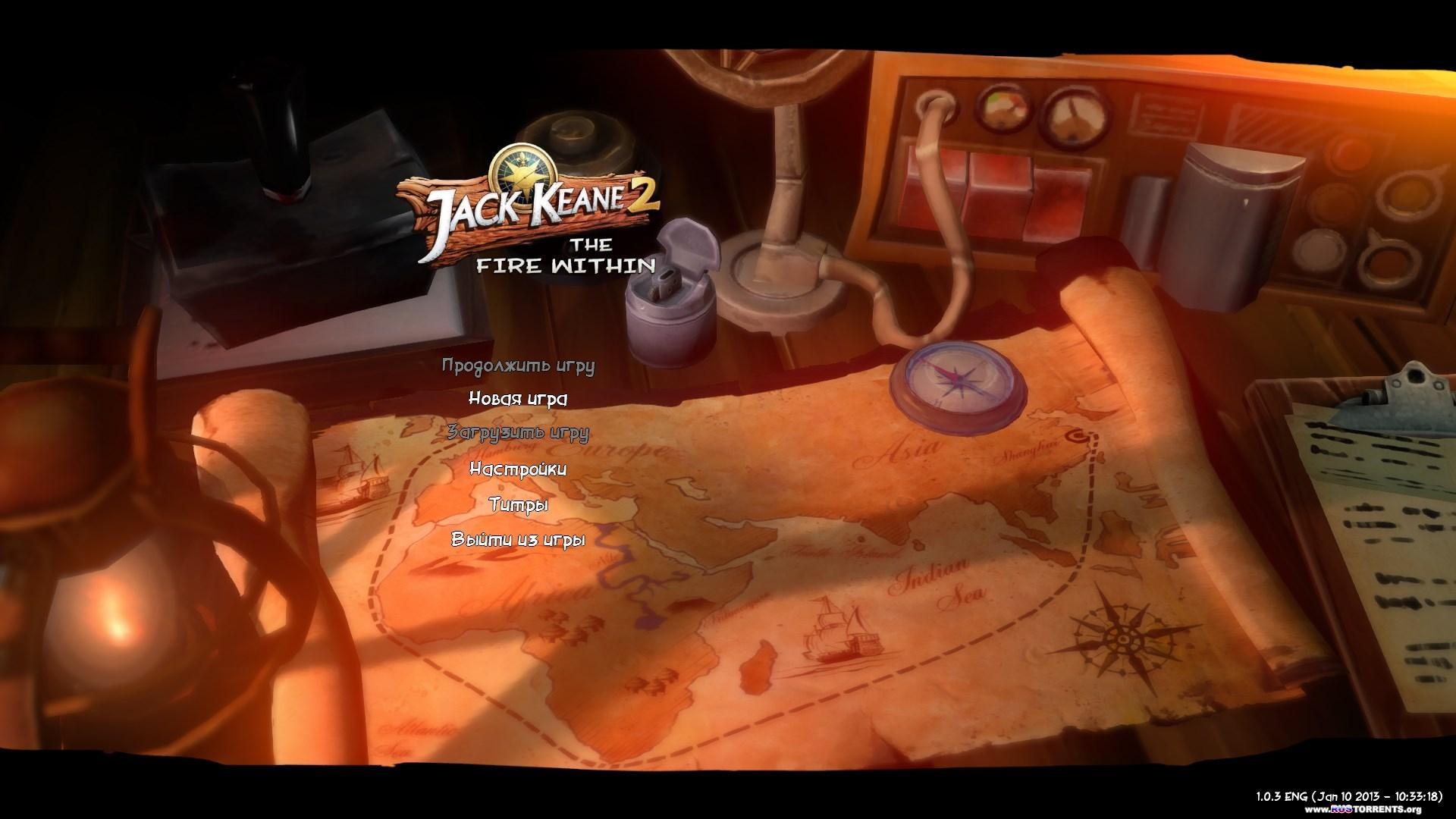 Jack Keane 2: The Fire Within | PC | (P)