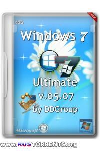 Windows 7 Ultimate SP1 x86 v.05.07 DDGroup RUS