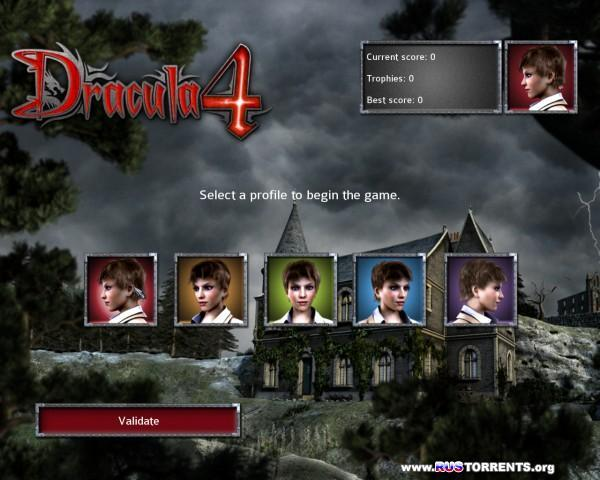 Dracula 4: The Shadow of the Dragon | Лицензия