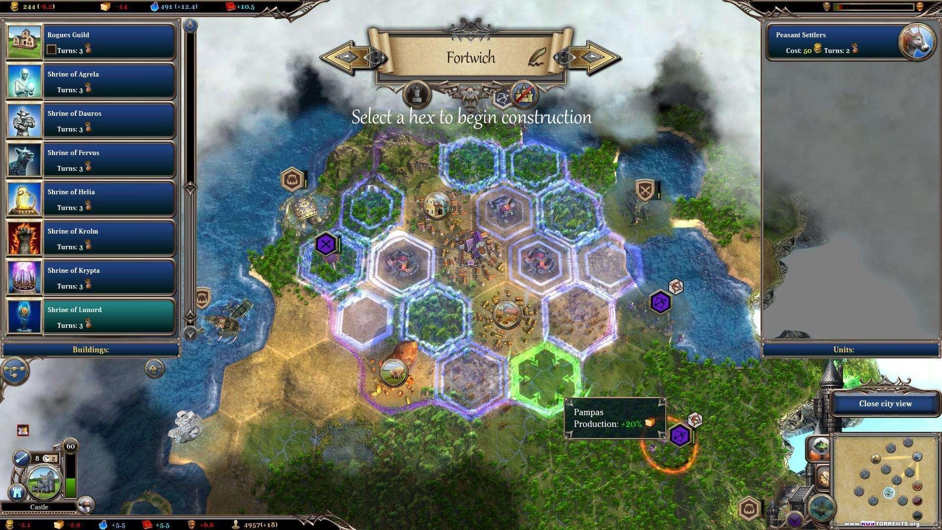 Warlock 2: the Exiled | PC | Лицензия