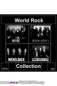 AC/DC, Bon Jovi, Nickelback, Scorpions - World Rock Collection | MP3