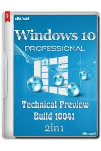 Windows 10 Professional Technical Preview Build 10041 2in1 by Andreyonohov
