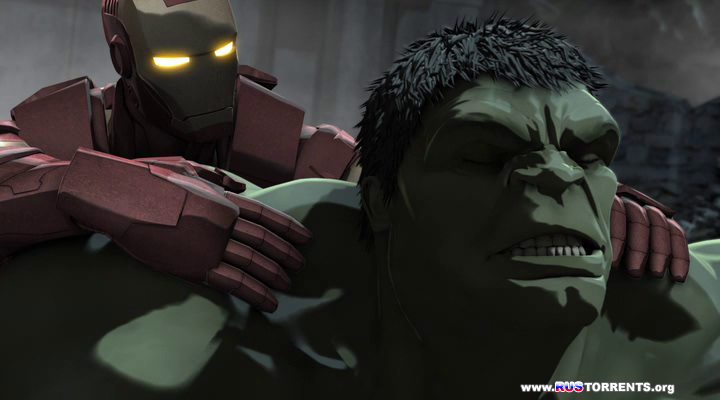 Железный человек и Халк: Союз героев  | HDRip | Лицензия