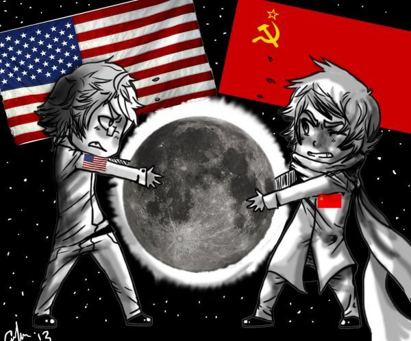 the space race between ussr and united states The world entered the space age when the soviet union launched sputnik in 1957 though only a radio encased inside a metal sphere the size of a basketball, it made many people in the united states.