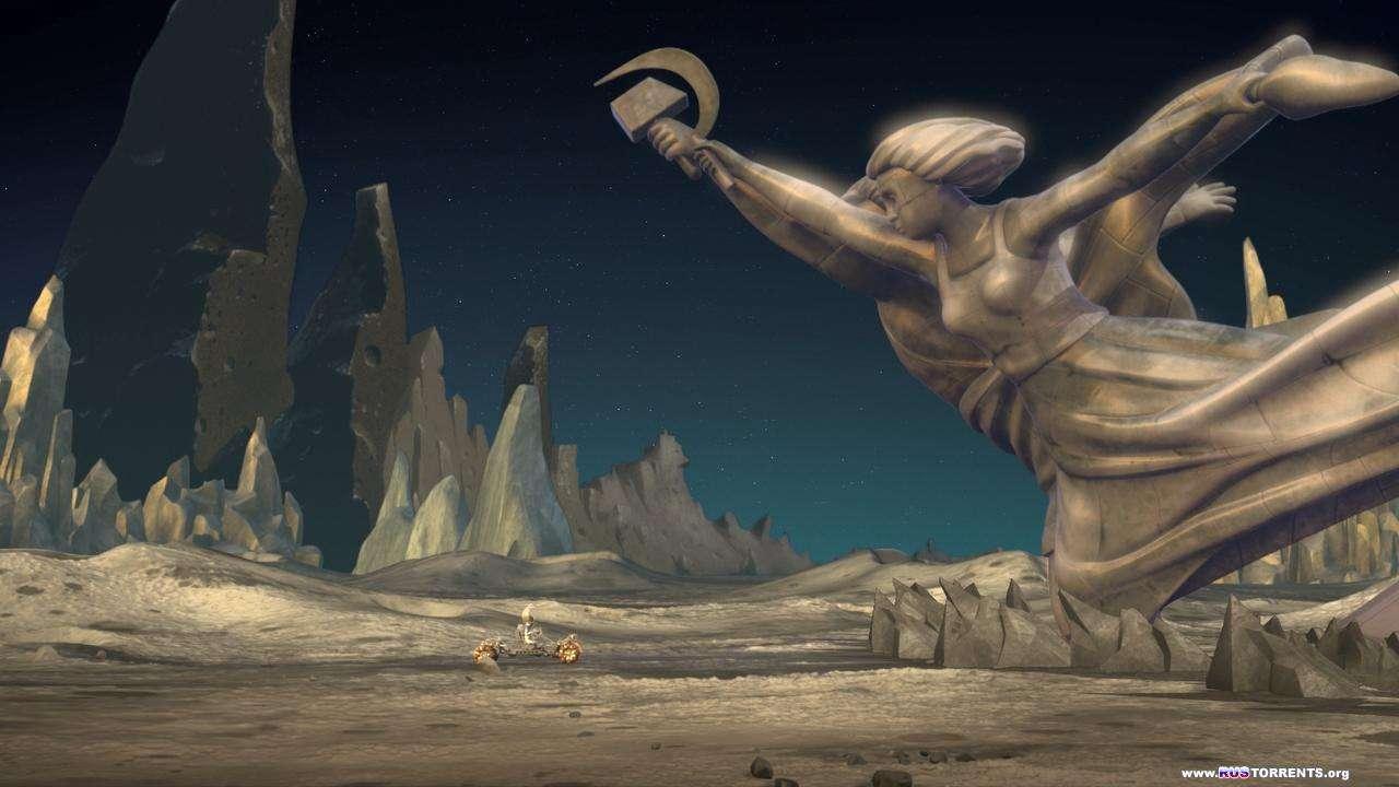 Белка и Стрелка: Лунные приключения | BDRip 720p | Лицензия