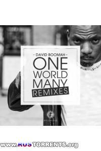 David Boomah - One World Many Remixes