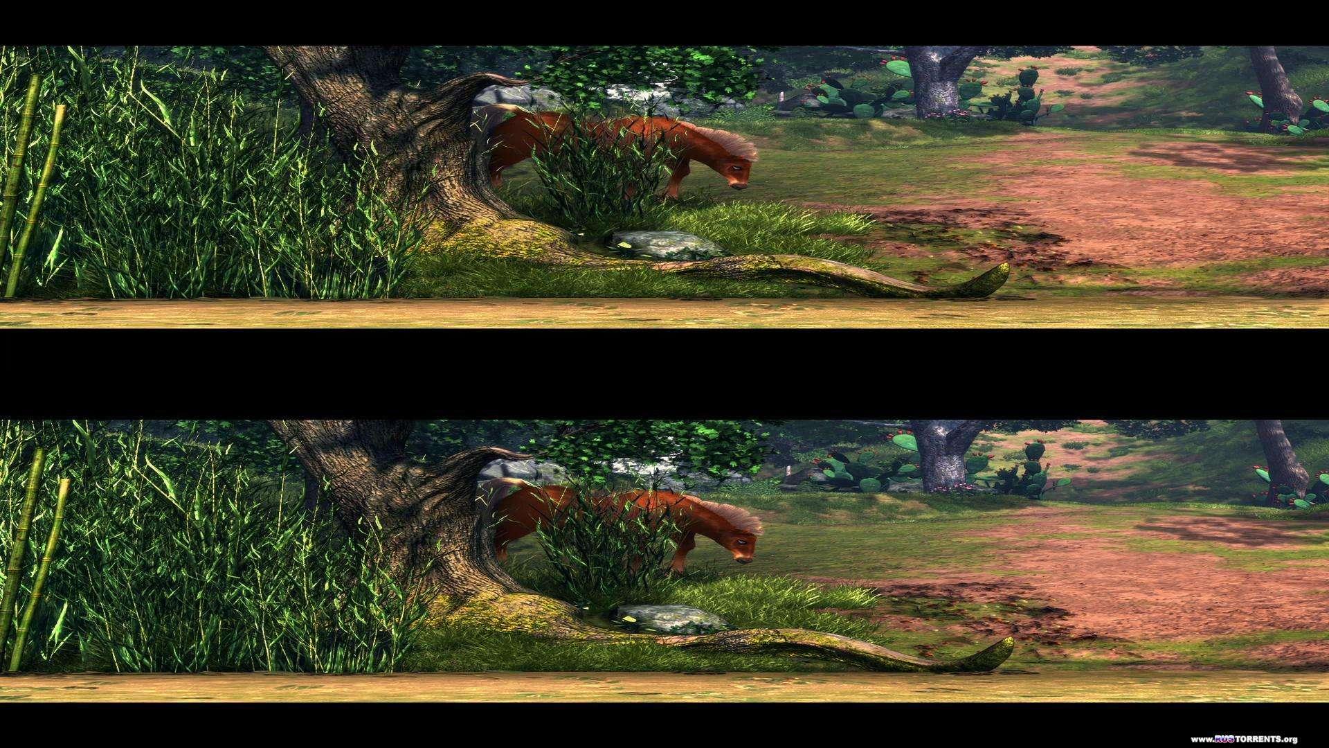 Гладиаторы Рима в 3Д   BDRip 1080p   3D-Video   halfOU