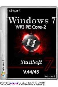 Windows 7 SP1 Plus WPI PE Core-2 x86/x64 StartSoft V.44/45 RUS