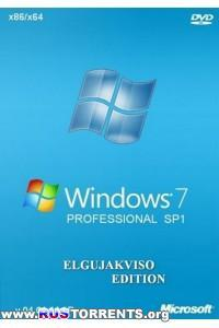 Windows 7 Professional SP1 x86/x64 Elgujakviso Edition v04.01.14 RUS