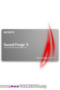 Sony Sound Forge 9.0e build 441 rus Portable