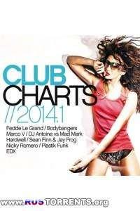VA - Club Charts 2014.1 (3 СD)