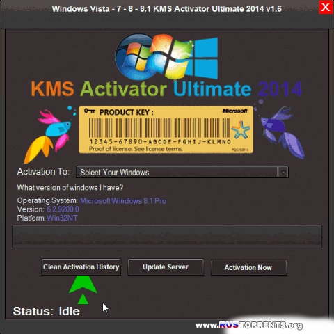 KMS Activator Ultimate 2014 v1.8 | PC