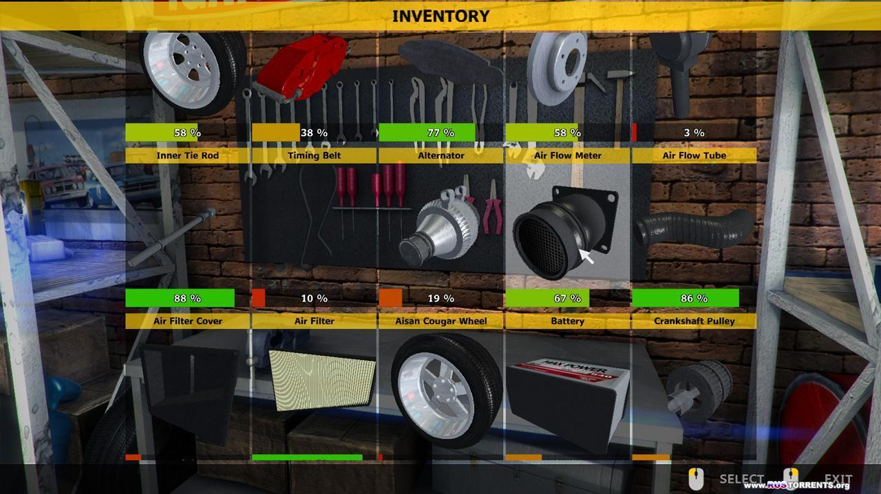 Car Mechanic Simulator 2015: Gold Edition [v 1.0.7.3 + 6 DLC] | PC | RePack от R.G. Механики