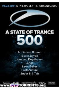 Armin van Buuren - A State Of Trance Episode 500 (Live PRE-PARTY, Cape Town)
