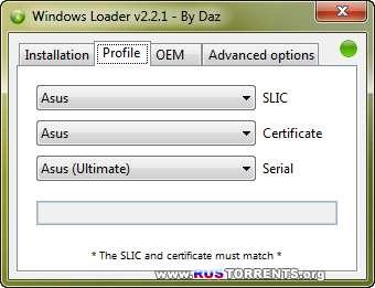 Windows 7 Loader by Daz 2.2.1 Final