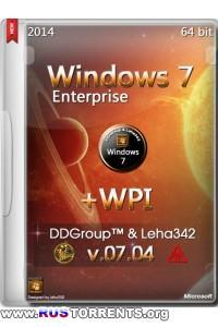 Windows 7 SP1 Enterprise x64 + WPI v.07.04 by DDGroup & Leha342